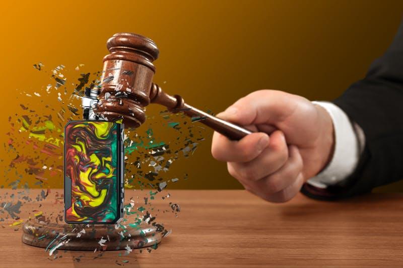Judge keeps refraining Bedford's electric cigarette shop