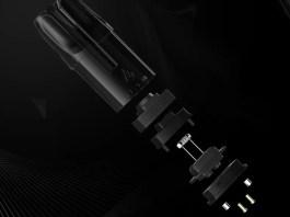 Esun pod vape takes the use of Joyetech box mod atomizing tech