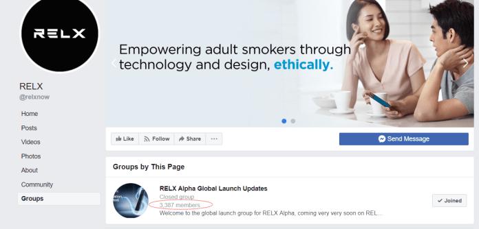 relx facebook group