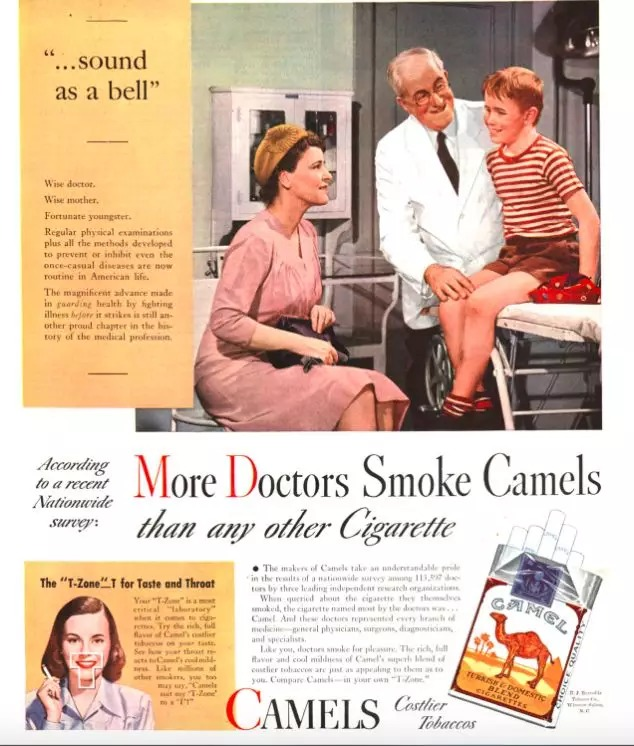 history of cigarette