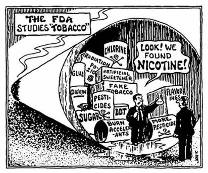 FDA+Nicotine