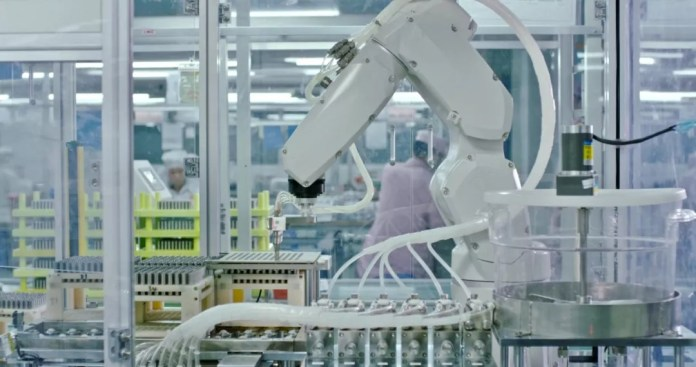 Leading production and manufacturing level