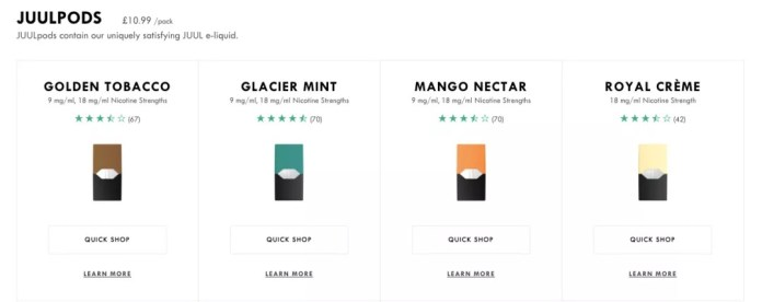 Juul official site