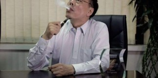 Hon Lik, the father of electronic cigarette