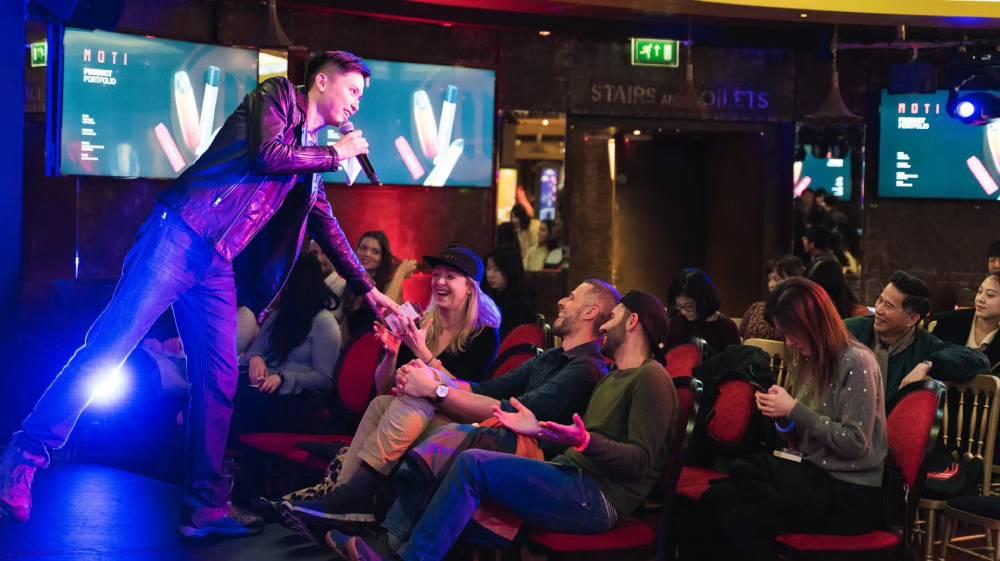 MOTI showcase in Immersive Screening presented by Filming East Festival