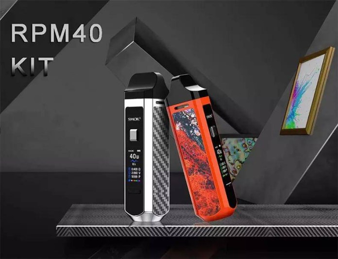 SMOK new pod system RPM40 review