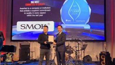 SMOK won Golden Leaf award at TABEXPO 2019 Amsterdam