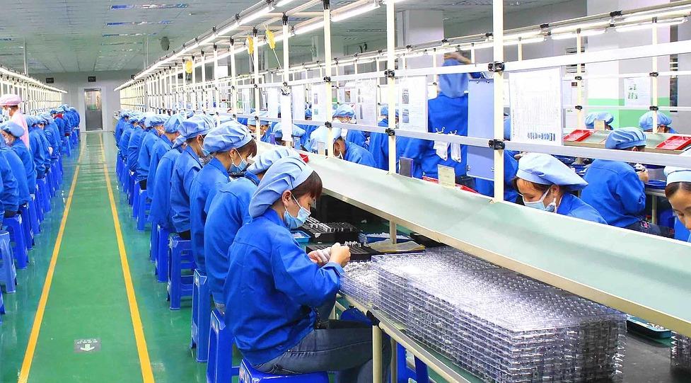 Kangertech assembly line
