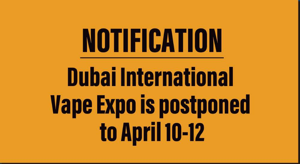 dubai international vape expo