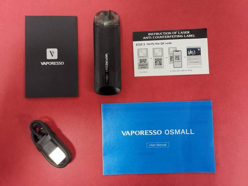 VAPORESSO OSMALL Pod Kit review