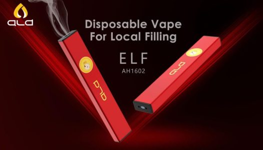 ALD ELF: disposable vape for local filling