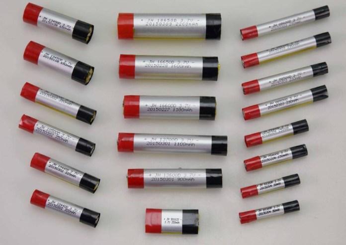 electronic cigarette battery