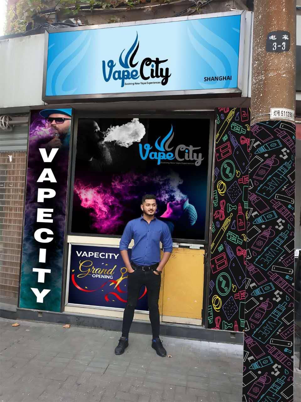 Discover VapeCity International that sells e-liquids in China