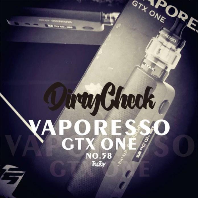 Vaporesso GTX one review