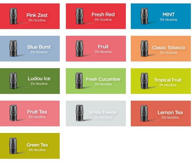relx flavors