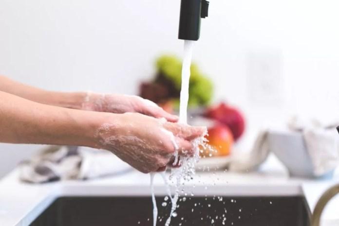 No. 2. Wash your hands