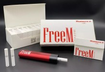 FreeM vape is launched