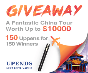 giveaway 150 uppends for 150 winners for free upends next level vaping
