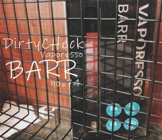 VAPORESSO BARR review