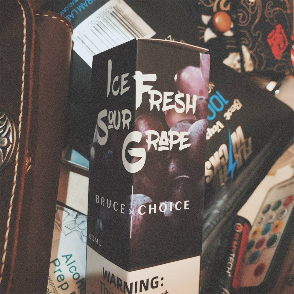 Bruce's Choice Ice Fresh Sour Grape