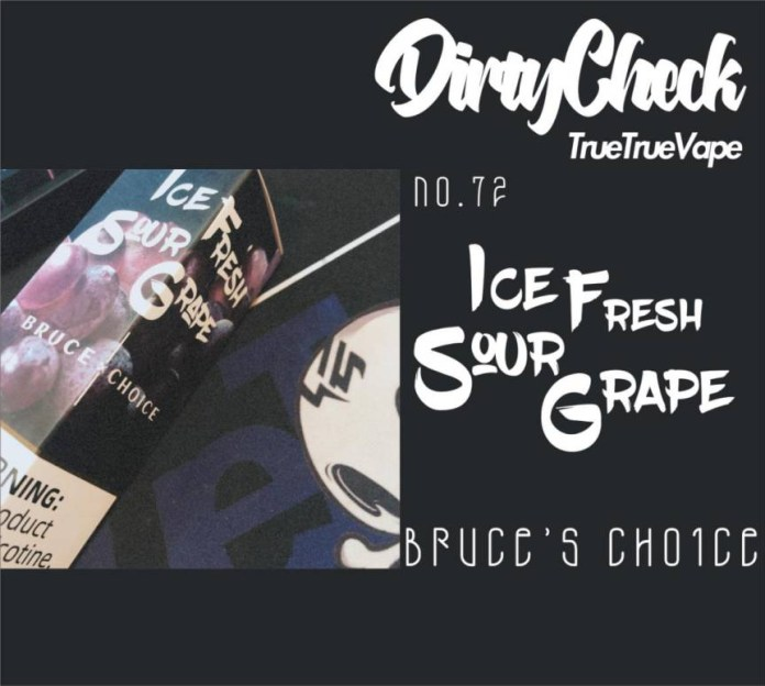 Bruce's Choice Ice Fresh Sour Grape