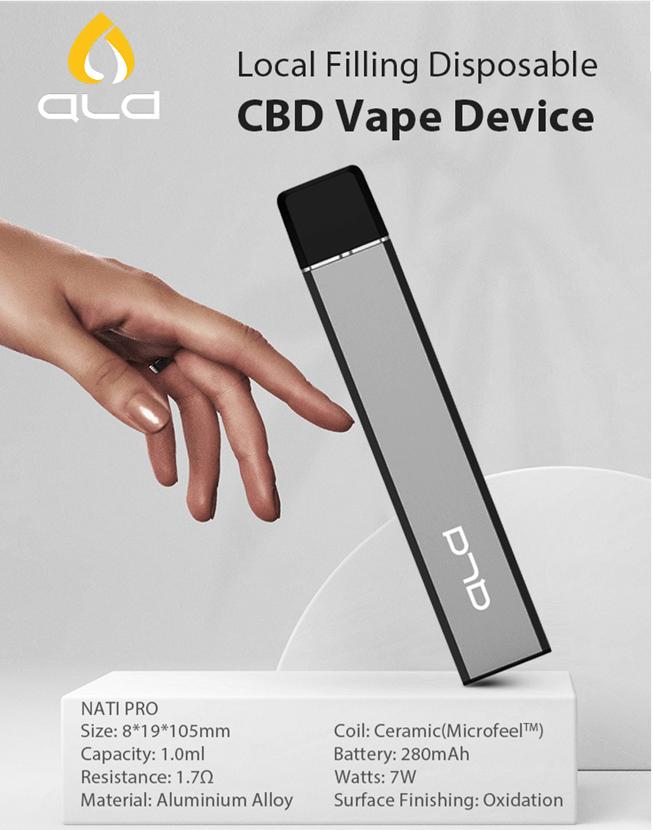disposable cbd atomizer vaporizer