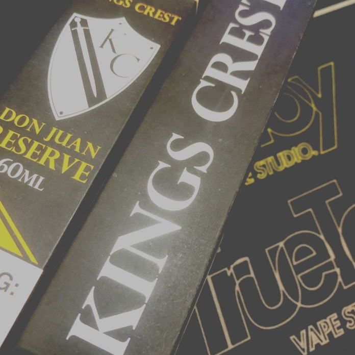 Kings Crest E-liquid review