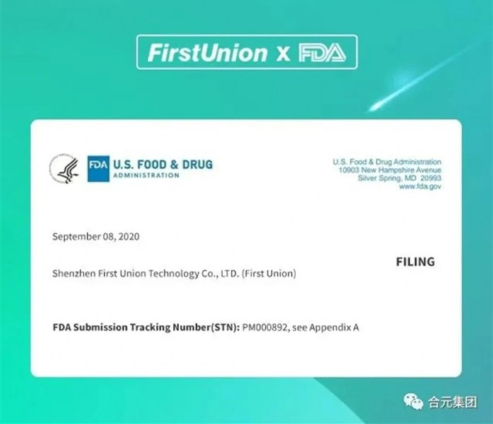 FirstUnion passed the second round of US PMTA review