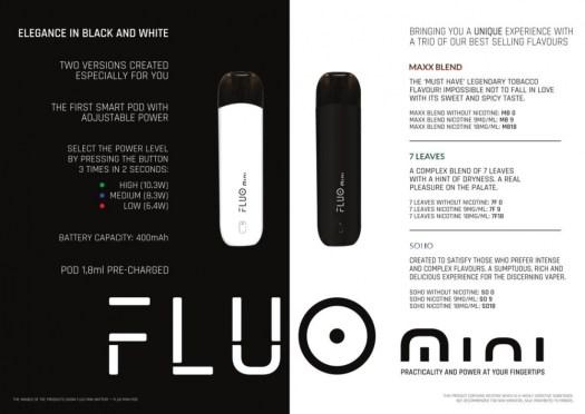 FlavourArt Fluo pod system