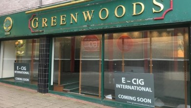 Vape shop to open in former city centre Greenwoods store