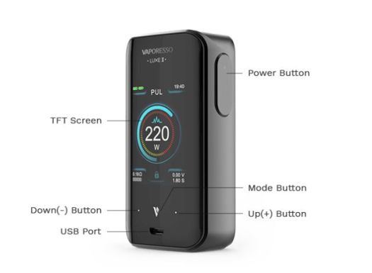 Vaporesso Luxe II Mod review