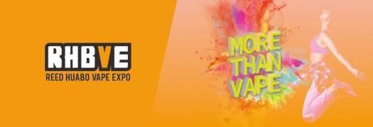 RHVBE e-cigarette exhibition date is on April 25-28