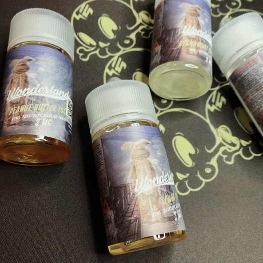 ASMODUS Wonerland E-juice review