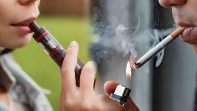 vaping smoking