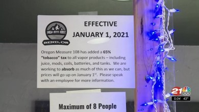 Bend vape shop reacts to hefty new e-cigarette tax
