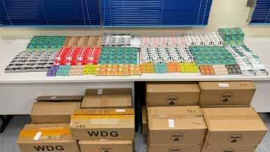 A man in charge of selling 450,000 yuan e-liquid was arrested in Hong Kong