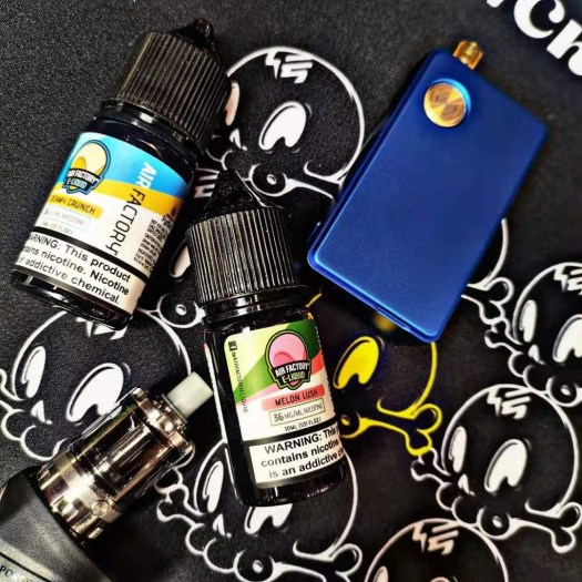 AIR FACTORY nicotine salt e-liquid review