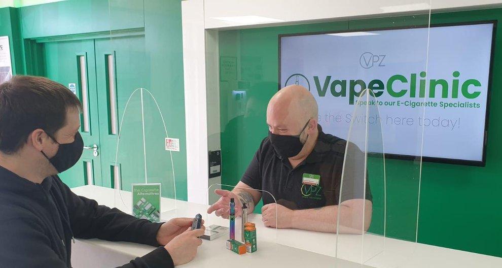 Edinburgh vaping firm VPZ takes wraps off first 'vape clinic'