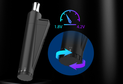 Yocan LIT Twist Pocket-sized Vaporizer Pen fit your on the go vaping needs