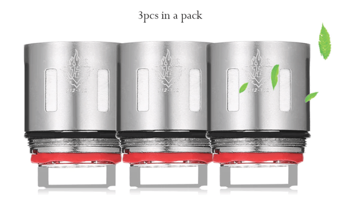 3x SMOK TFV12 Big Family V12 – Q4 0.15 ohm Coils – £7.69 delivered