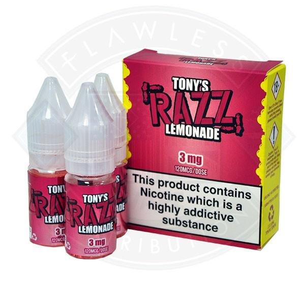 Tony's – Razz Lemonade 3x10ml 3mg – £8.00 at Vaping101