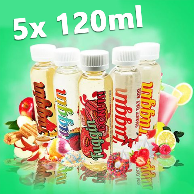 600ml Fuggin E-Juice (5x 120ml) on sale – £68.70 delivered