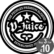 V Juice 3 for £10 at Majik Dragon E Liquids