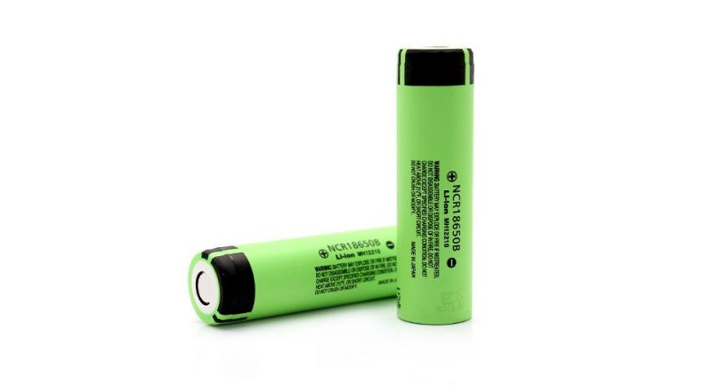 2x Panasonic NCR18650B Rechargeable 3400mAh 3.7V 18650 Batteries – £7.56 delivered