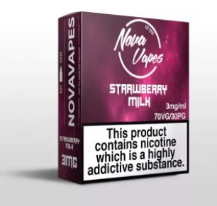 NovaVapes 60ml E-Liquid Sale (3mg) – £7.12