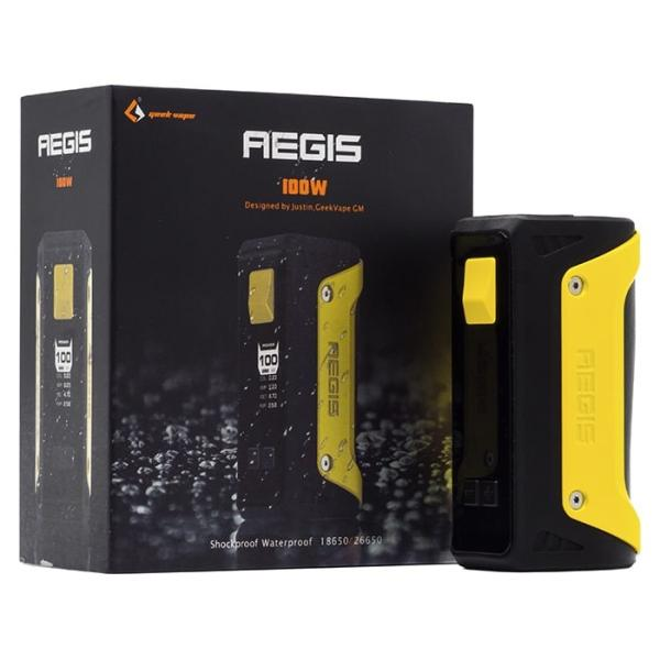 GeekVape Aegis 100W TC Mod with 26650 Battery – £28.15