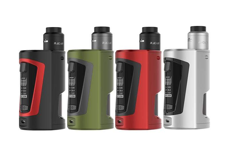 GeekVape GBOX 200W 8ml Squonk Mod Kit  – £42.17