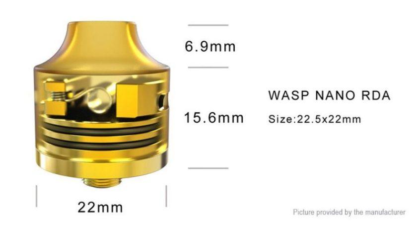 Oumier Wasp Nano RDA specs
