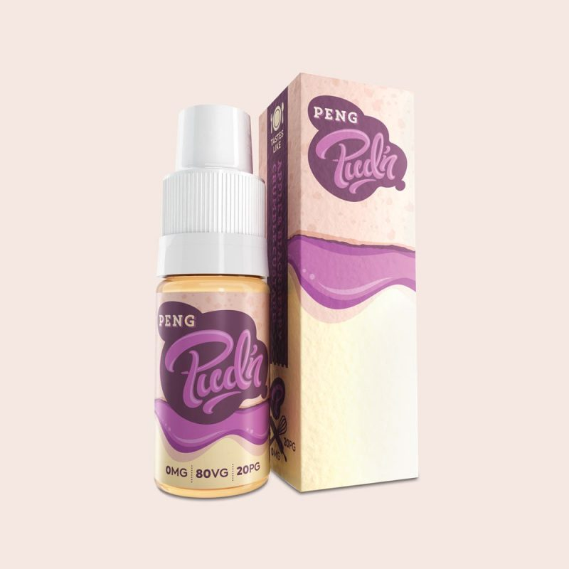 3x 10ml bottles of Pud'n E-Liquid – 99p delivered
