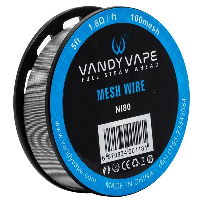 Vandy Vape – Mesh Wire Ni80 – £3.99 at UKEcigStore